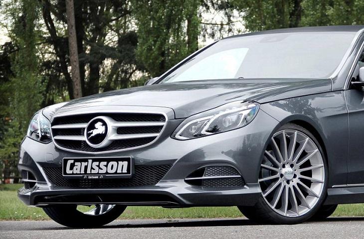 《カールソン Carlsson 》フロントリップスポイラーメルセデス ベンツ W212 Eクラス 2013/5~AMG/AMGスポーツパッケージ車装着不可Mercedes Benz