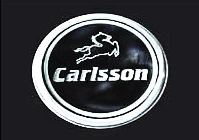 決算セール☆大特価!《Carlsson Accessory》カールソン アクセサリーリアラウンドエンブレム 60mm