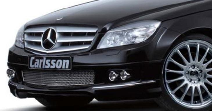 決算セール☆大特価!《カールソン Carlsson 》メッシュインレット Elegance/Avangardeメルセデス ベンツW204 Cクラス 前期用Mercedes Benz