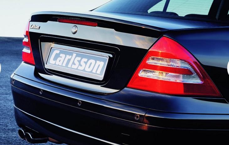 決算セール☆大特価!《カールソン Carlsson 》リアスポイラー Avangarde用メルセデス ベンツ W203 CクラスMercedes Benz