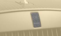 MANSORY マンソリーRolls-Royce Wraith series2 ロールスロイス レイスシリーズ2フロントグリルバッジ カーボン with MANSORY logo