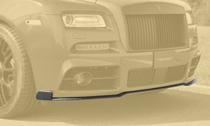 MANSORY マンソリーRolls-Royce Wraith series2 ロールスロイス レイスシリーズ2フロントリップ1 カーボン ※マンソリーバンパー対応