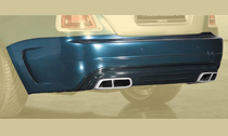 MANSORY マンソリーRolls-Royce Dawn ロールスロイス ドーンリアスカート カーボン withテールパイプ
