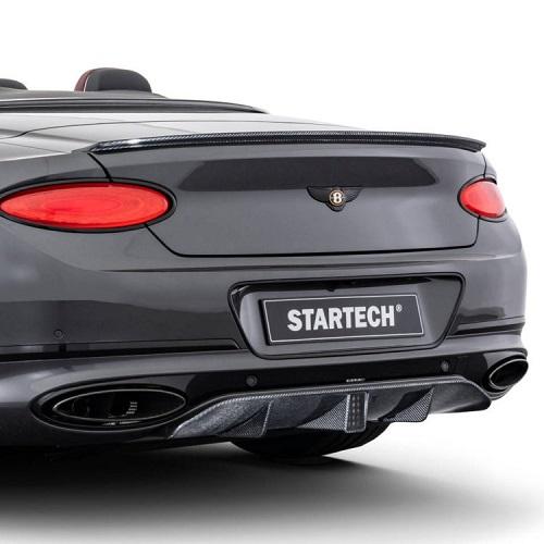 STARTECH スターテックBentley ContinentalGT/GTC ベントレー コンチネンタルGT/GTC 2019y~●リアディフューザー カーボン(LEDフォグ付)BRABUS ブラバス