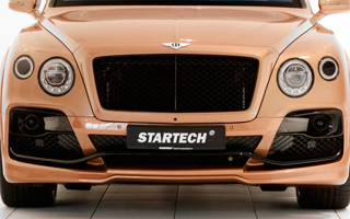 STARTECH スターテック Bentley Bentayga ベントレー ベンテイガフロントバンパーcarbon package wing & distronic cover