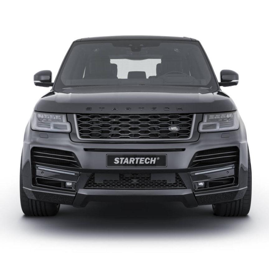 STARTECH スターテックRange Rover レンジローバー 2018y~フロントスポイラー with LED Daylight