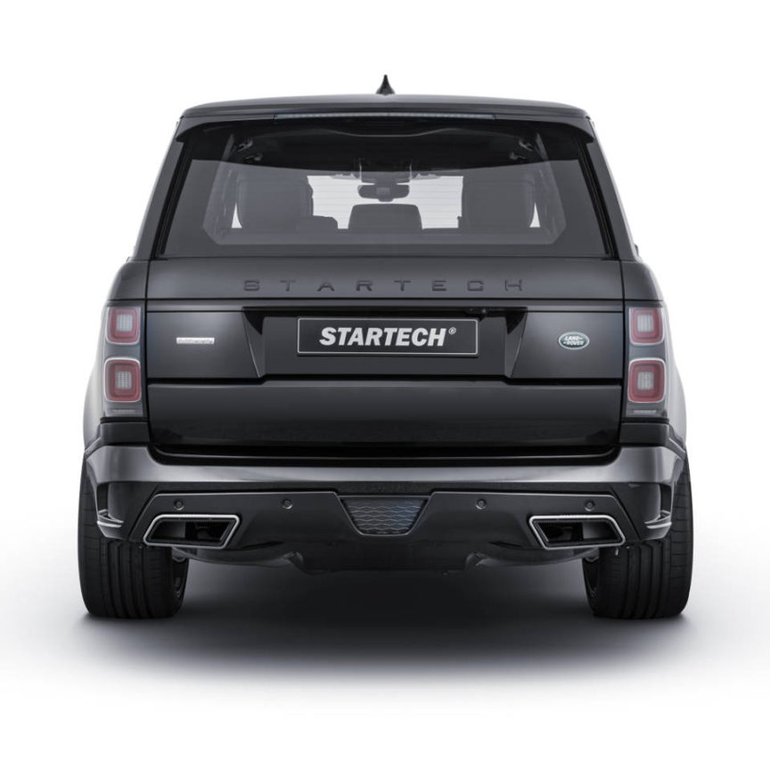 STARTECH スターテックRange Rover レンジローバー 2018y~リアスカート with Tailpipes/Carbon Diffuser
