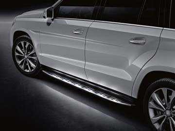 Mercedes Benz メルセデス ベンツ GLクラス(X166)純正 ランニングボード(イルミネーション)