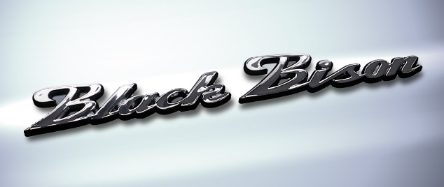《WALD ヴァルドパーツ》Black Bison EMBLEMブラックバイソンエンブレムブラッククリア