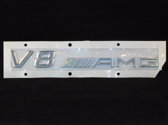 純正品 R172 SLKクラス SLK55 V8 AMG サイドエンブレム 2枚 Mercedes Benz メルセデス ベンツ