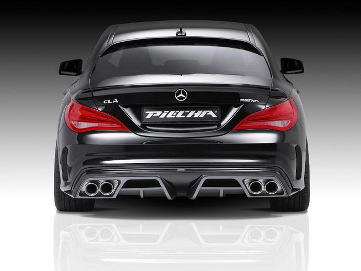 PIECHA ピーチャ リアディフューザー Mercedes Benz メルセデス ベンツ CLAクラス W117