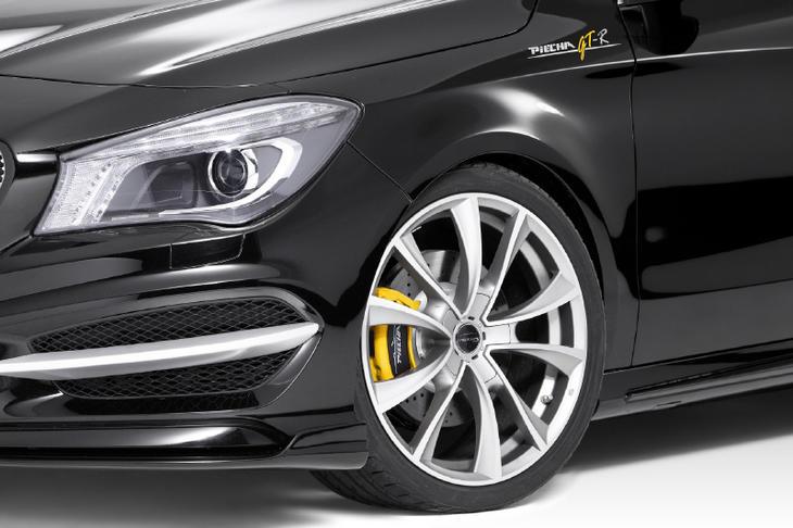 《PIECHA DESIGN ピーチャ デザイン》フロントカップウィングMercedes Benz メルセデス ベンツ CLAクラスW117