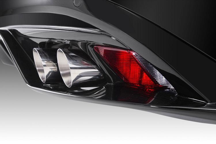 《PIECHA ピーチャ》Jaguarジャガー F-TYPE RS-R リアディフューザー(4本出しマフラー用)
