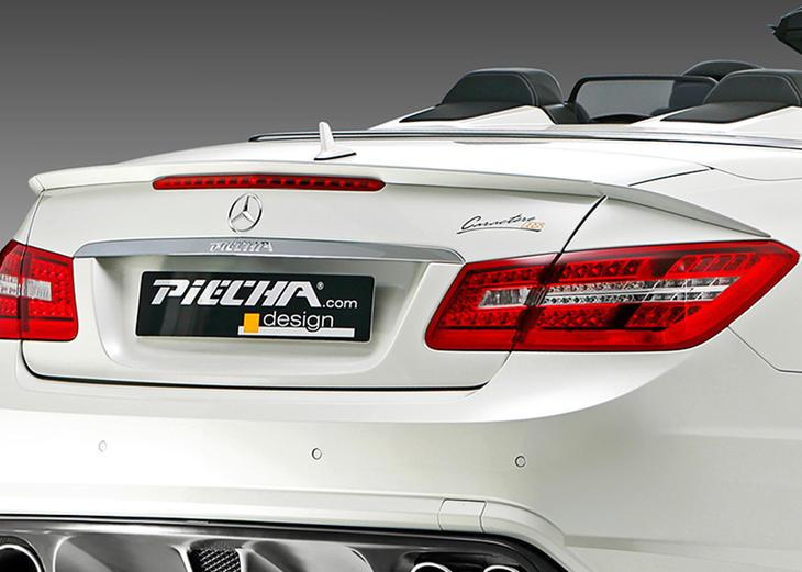 PIECHA ピーチャ リアスポイラー Mercedes Benz メルセデス ベンツ W207 Eクラスカブリオレ用