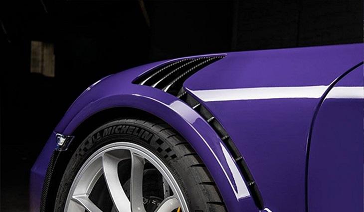 TECHART テックアートフロントフェンダーダクトパネル カーボンPORSCHE ポルシェ 991 GT3 RS
