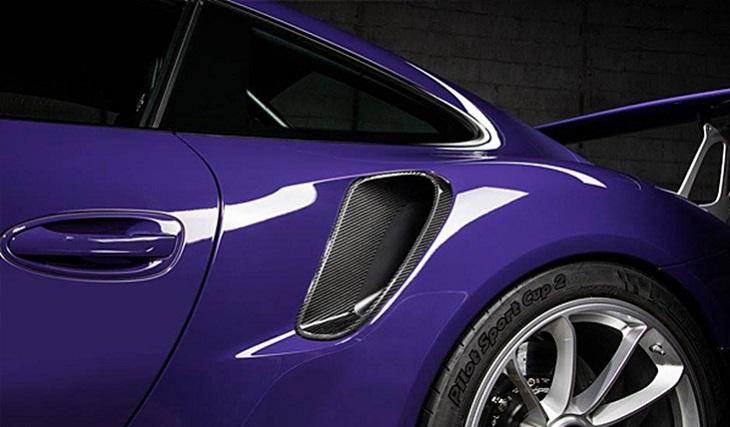 《TECHART テックアート》サイドエアインテイク カーボンPORSCHE ポルシェ 991 GT3 RS