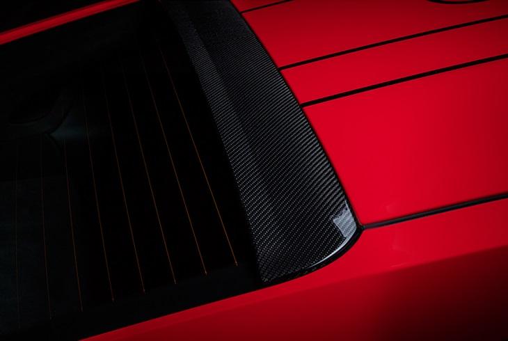 TECHART テックアートリアルーフスポイラー カーボンPORSCHE ポルシェ 991 GT3 RS