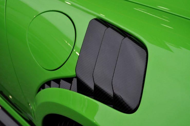 TECHART テックアートフロントフェンダーダクトパネル カーボンポルシェ 991.2 GT3 RS