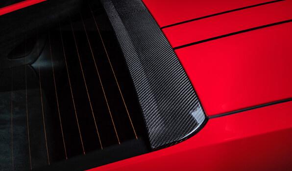 TECHART テックアートリアルーフスポイラー カーボンポルシェ 991.2 GT3