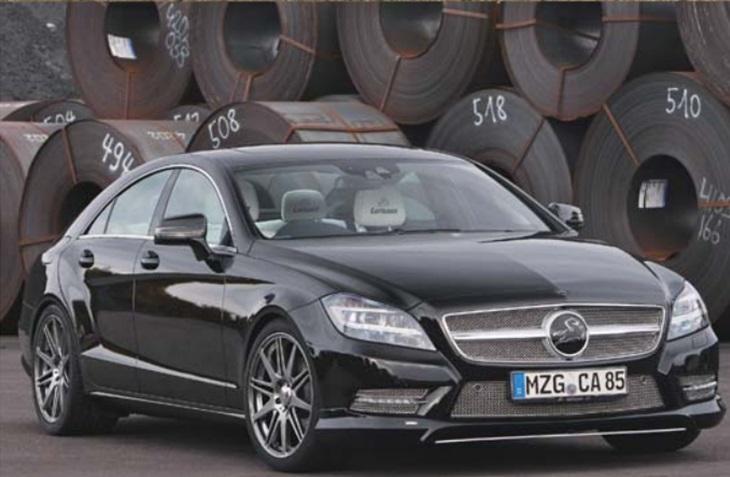決算セール☆大特価!《カールソン Carlsson 》リアウィング メルセデス ベンツ C218 CLSクラス Mercedes Benz