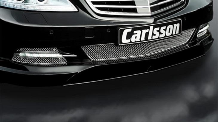 決算セール☆大特価!《カールソン Carlsson 》フロントメッシュインレットスタンダード用(AMG不可)メルセデス ベンツ W221 Sクラス 09y~Mercedes Benz