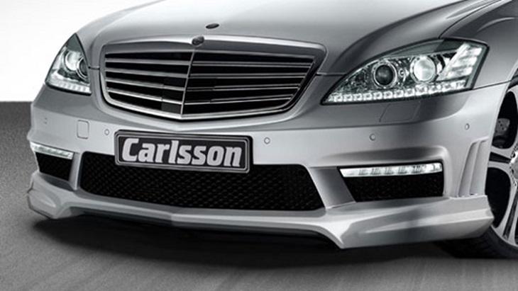 決算セール☆大特価!《カールソン Carlsson 》RSフロントリップスポイラー(S63,S65用)メルセデス ベンツ W221 Sクラス 09y~Mercedes Benz