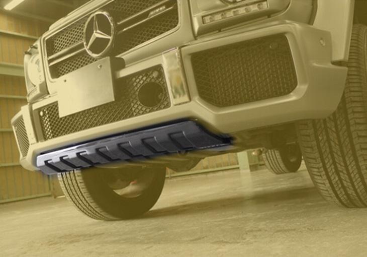 MIB カーボンフロントアンダーガード ※Gloss Carbon グロスカーボン※ Mercedes Benz メルセデス ベンツ Gクラス ゲレンデヴァーゲン W463 G63
