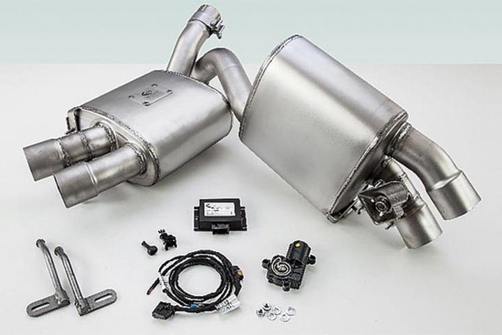 TECHART テックアート リアマフラー Turbo用 95B Macan ポルシェ マカン