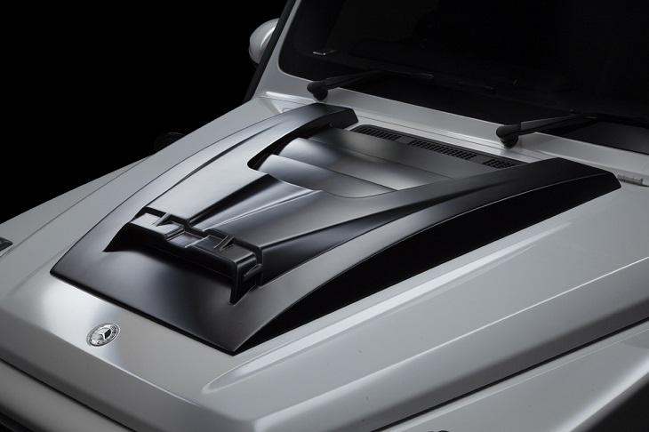 WALD ヴァルド ブラックバイソンボンネットスクープカバーメルセデス ベンツ W463A Gクラス 2018y~G63 G550 G350d※受注生産のため返品不可