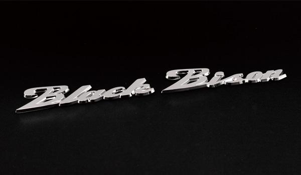 WALD ヴァルド Black Bison EMBLEM ブラックバイソン エンブレム メルセデス ベンツ レクサス トヨタ