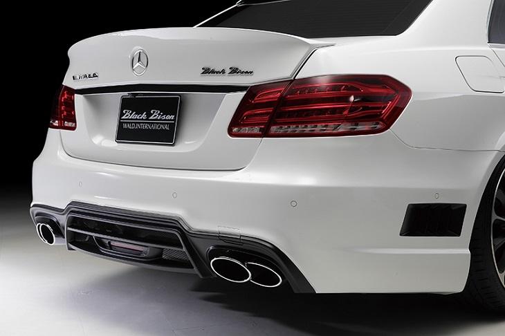《WALD ヴァルド》リアバンパースポイラーMercedes Benz メルセデス ベンツ W212 Eクラス (2013年~)※E250(アバンギャルドは除く)に取付け時、必要な純正パーツがあります
