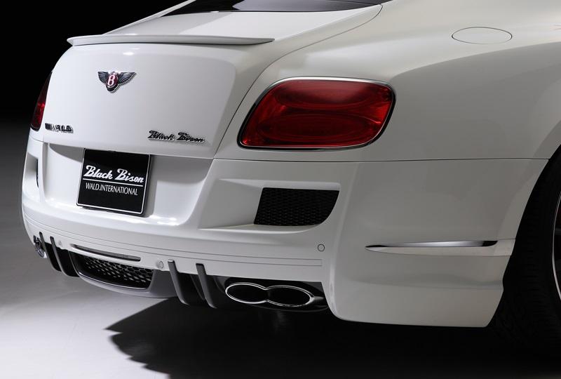 《WALD ヴァルド》リアバンパースポイラーBENTLEY CONTINENTAL GT 2011y~ベントレー コンチネンタルGT