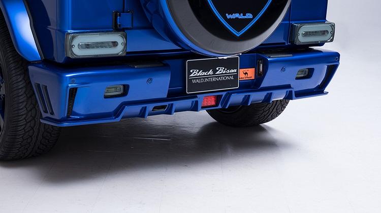 《WALD ヴァルド》リアバンパースポイラーハイブリッド製(一部カーボン使用)メルセデスベンツ Mercedes-AMG G63 W463 ゲレンデヴァーゲン 2013y~