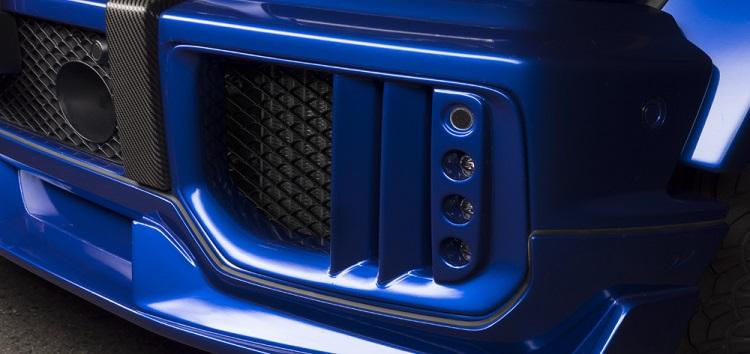 WALD ヴァルド LEDインサートエアダクト FRP製 メルセデスベンツ AMG G63 W463 Gクラス ゲレンデヴァーゲン 2013y~