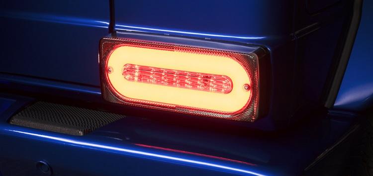 WALD ヴァルド LED チューブテール クリア メルセデスベンツ AMG G63 W463 Gクラス ゲレンデヴァーゲン 2013y~