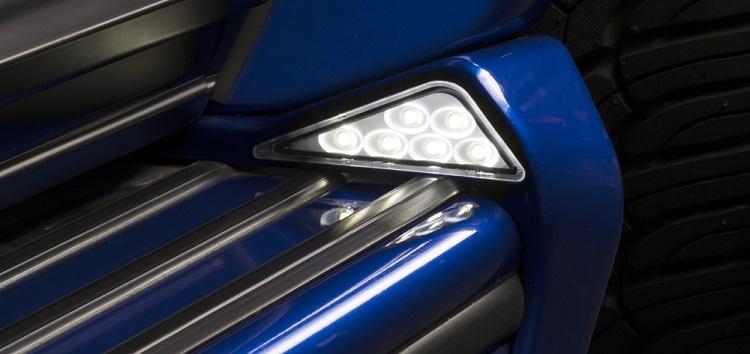 WALD ヴァルド サイドステップエンド LED メルセデスベンツ AMG G63 W463 Gクラス ゲレンデヴァーゲン 2013y~