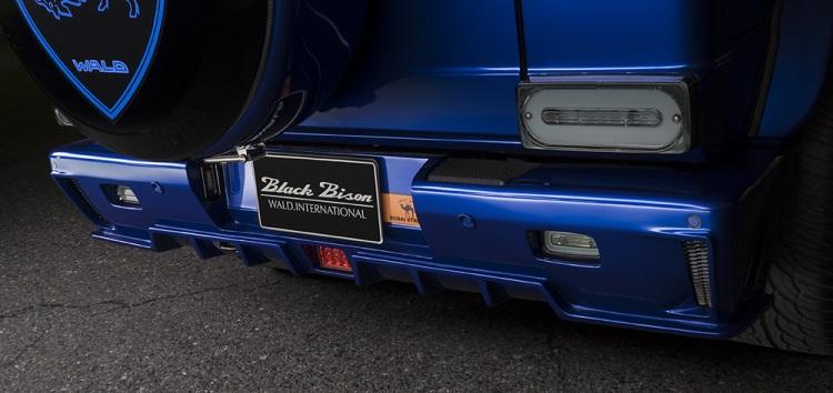 WALD ヴァルド リアフォグ&リバースランプ クリア メルセデスベンツ AMG G63 W463 Gクラス ゲレンデヴァーゲン 2013y~