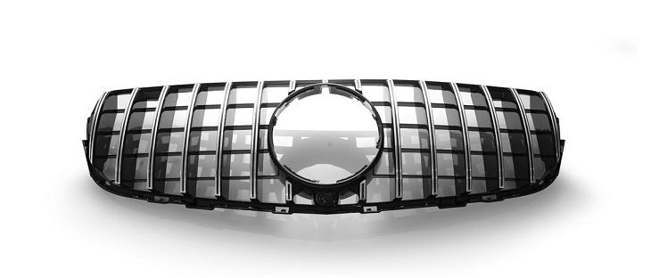 WALD ヴァルド Blan Balle nパナメリカーナ グリル 縦フィングリル メルセデスベンツ GLCクラス X253 16y~ ブラック/クローム