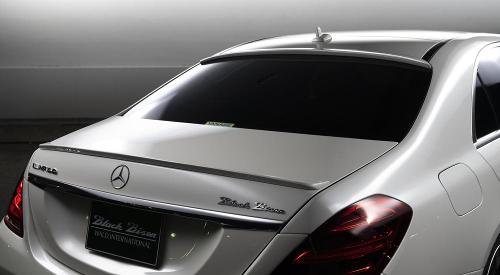 WALD ヴァルド スポーツライン ブラックバイソン エディション ルーフスポイラー MercedesBenz メルセデスベンツ Sクラス W222 2017y~ マイナー後 S450 S560 S63  ※送料無料