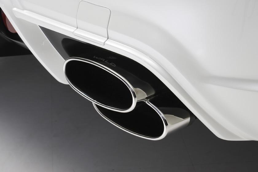 《WALD ヴァルド》D.T.Mスポーツマフラー《PILED160X2 オールステンレス》Mercedes Benz メルセデス ベンツ W221 Sクラス 2009年~