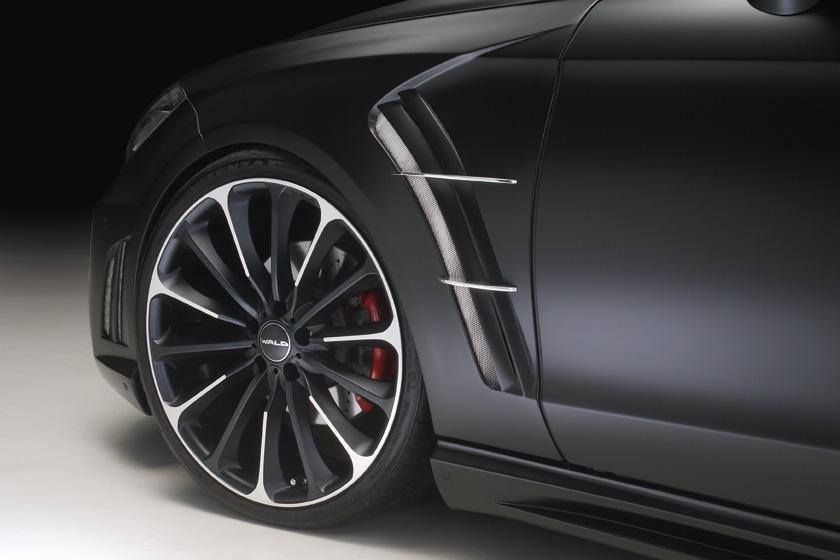 《WALD ヴァルド》スポーツフェンダーダクト《FRP製・純正交換タイプ》Mercedes Benz メルセデス ベンツ W218 CLSクラス