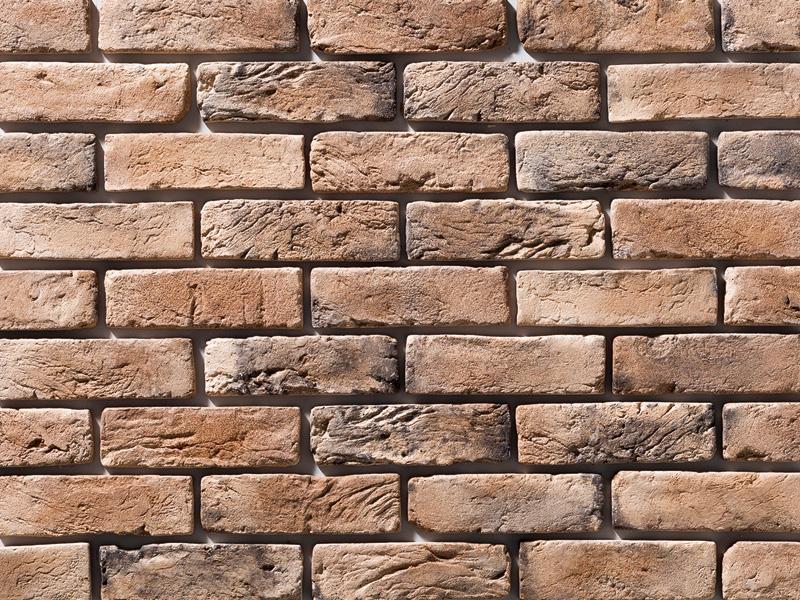 欧風 ヨーロッパ風 アンティーク調ブリックタイル 外壁 店舗 ブラウン系 業界No.1 ブリックタイル セメント系壁面ブリックタイル 約1m2 1ケース63枚 アイテム勢ぞろい 入り フラット ヨーロピアンブリック ダークアンティーク