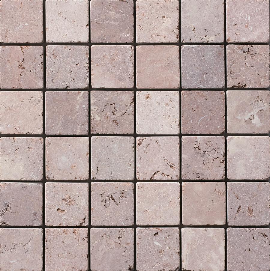 ナチュラルスタイルの玄関 玄関ポーチには絶対コレ 大人気天然大理石 ブラウン系 新色追加 天然大理石 ファインタンブルストーン 100mm角 バリブラウン お得なキャンペーンを実施中 入り 1ケース40枚 約0.44m2