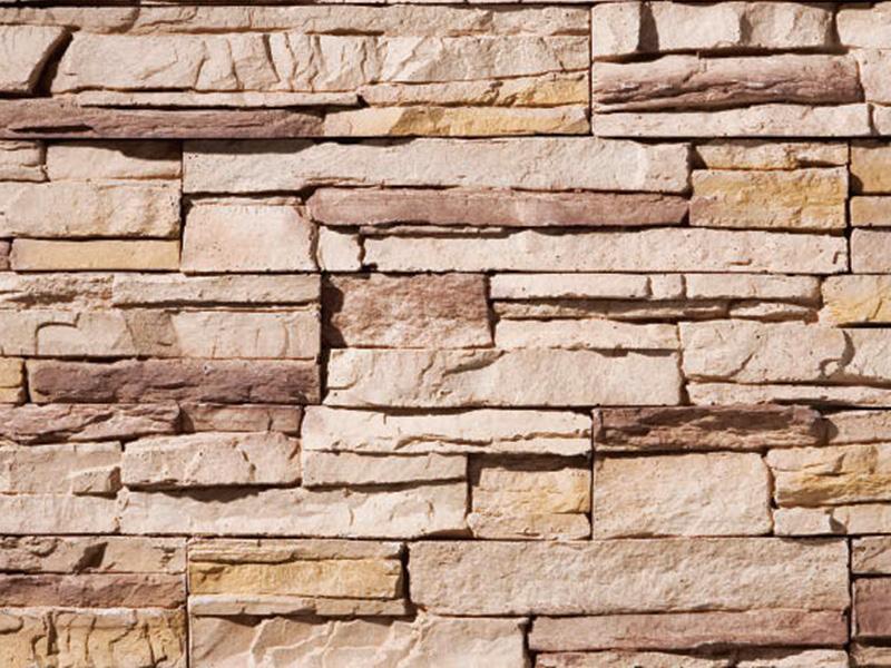 擬石 スタックストーンXP マウンテンブレンド フラット 1ケース約0.5m2入り セメント系壁面ストーンタイル