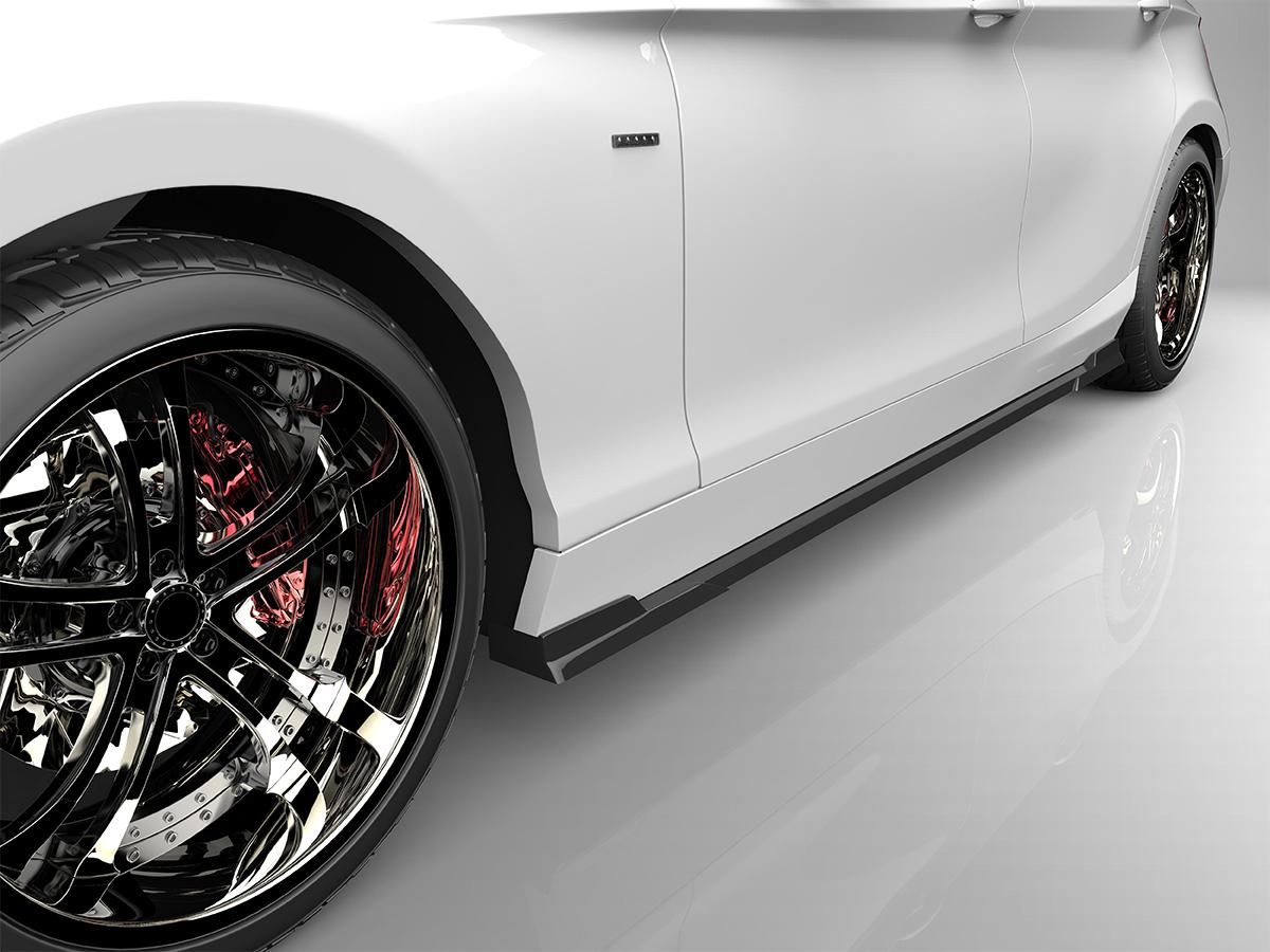 ■国産エアロパーツ!保証付き!!NEW MODEL/EUROUF20 1シリーズ 標準車 前期サイドステップ エアロパーツ
