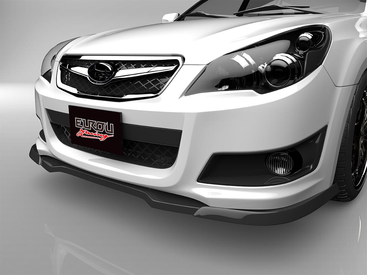 ■国産エアロパーツ!保証付き!!NEW MODEL/EUROUレガシィ ツーリングワゴン BR9 Sパッケージフロントアンダースポイラー エアロパーツ