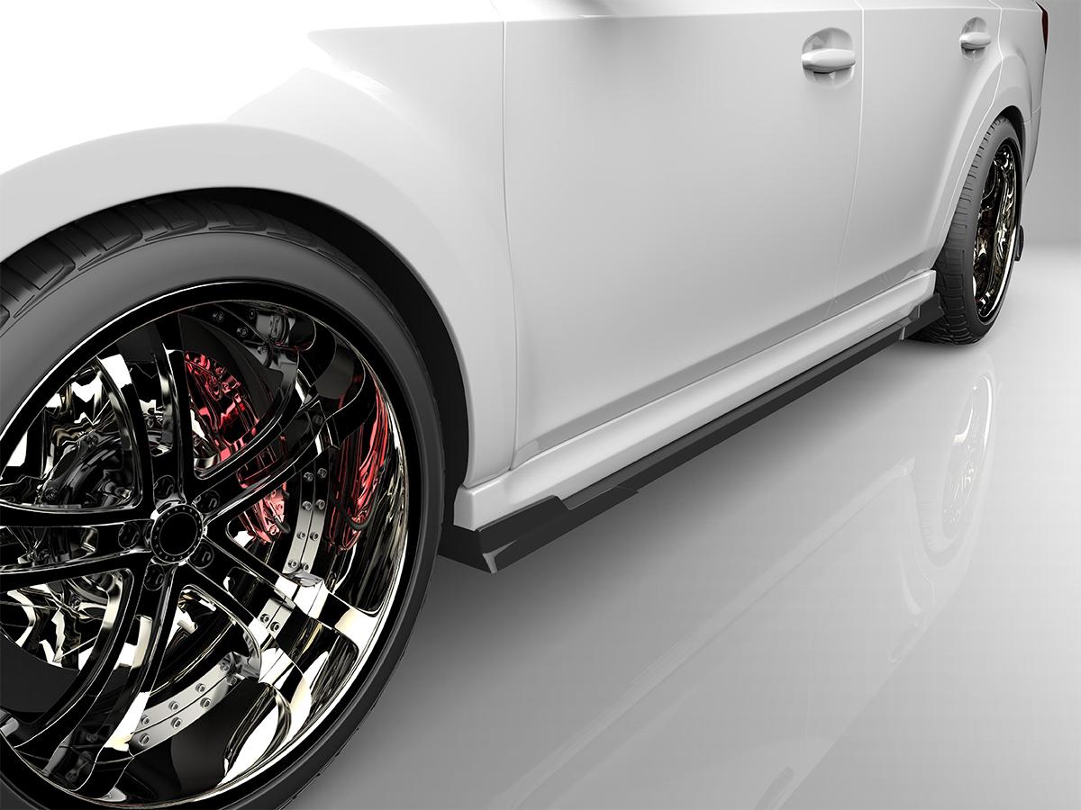 ■国産エアロパーツ!保証付き!!NEW MODEL/EUROUレガシィツーリングワゴン BRM BRG BR9 後期サイドステップ エアロパーツ