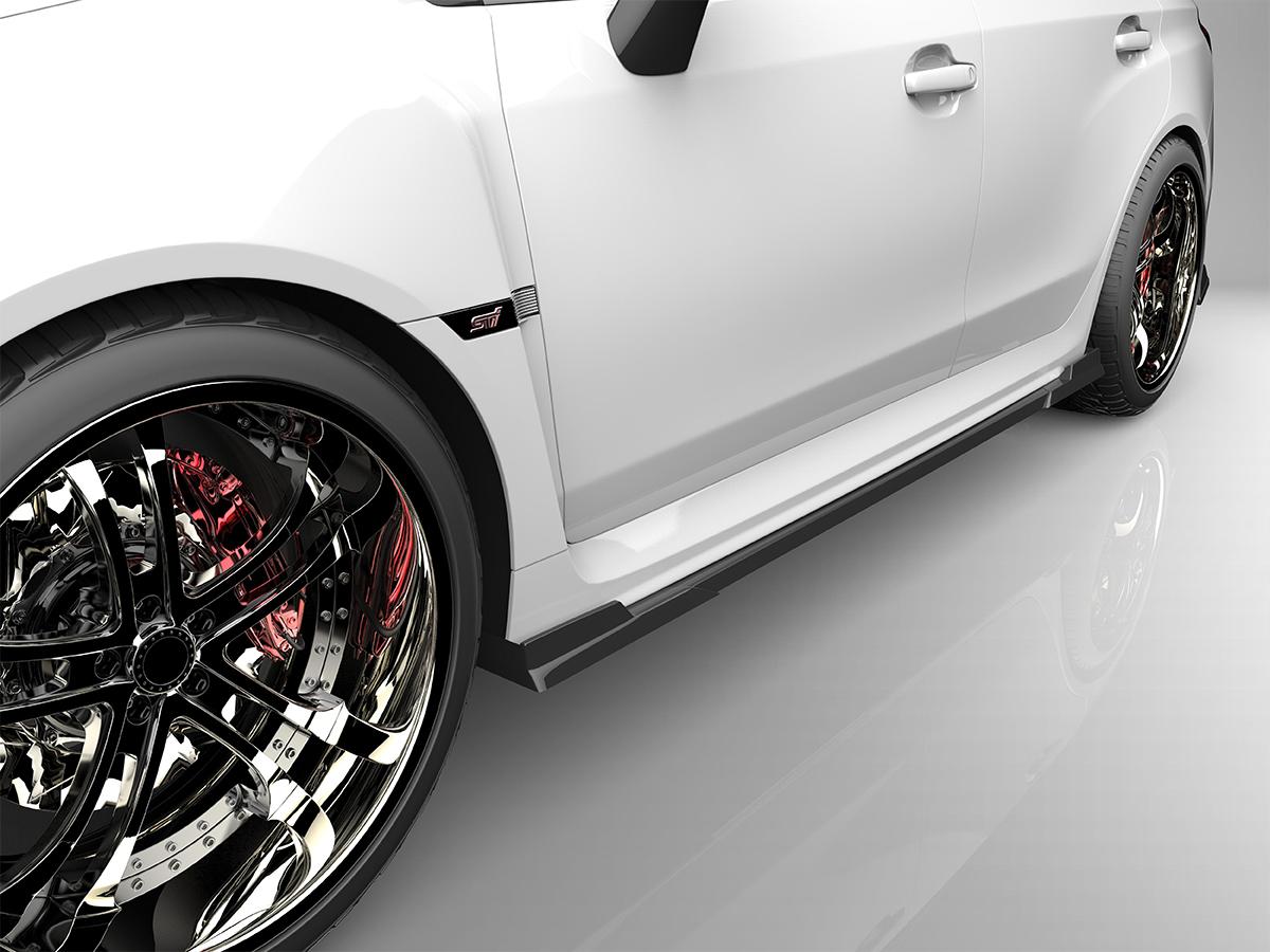 ■国産エアロパーツ!保証付き!!NEW MODEL/EUROUWRX STI WRX S4サイドステップ エアロパーツ