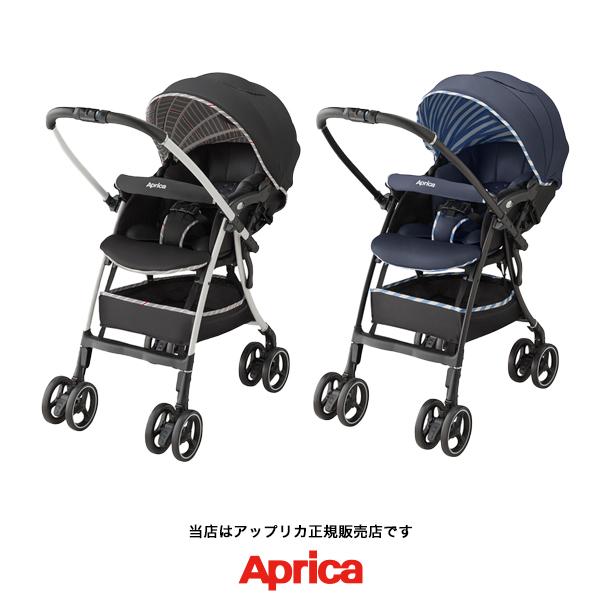 【Apricaアップリカ正規販売店】ラクーナエアーAC(LUXUNA AirAC)軽量オート4輪両対面A形ベビーカー