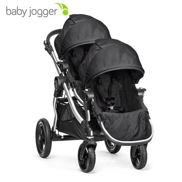 【BabyJogger ベビージョガー正規販売店】baby jogger city select シティセレクト(ブラック)セカンドシートブラックフレーム(2022278)ツインストローラーセット